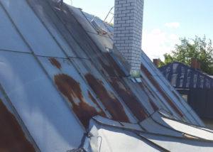 Tehnika 71 katuse parandamine 6 300x214 Tolmu eemaldamine raskesti ligipääsetavatest kohtadest
