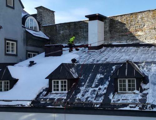 Kuidas lumi sulab ja jääpurikad tekivad?